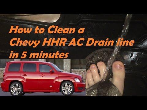 HHR Chevy How to Unplug AC Drain in less than 5 min