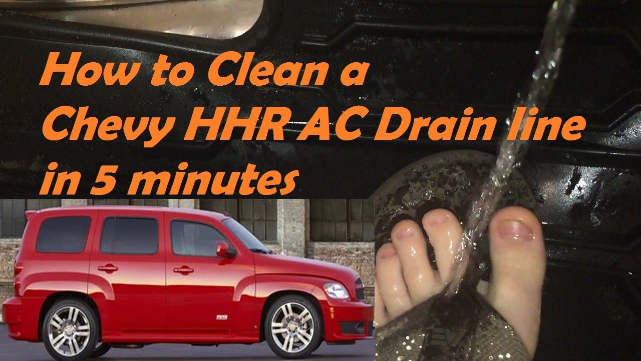 2015 Chevy Trailblazer >> HHR Chevy How to Unplug AC Drain in less than 5 min - YouTube