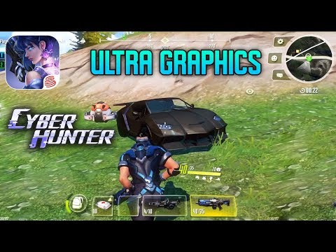 CYBER HUNTER - ULTRA GRAPHICS GAMEPLAY ( IOS / ANDROID )
