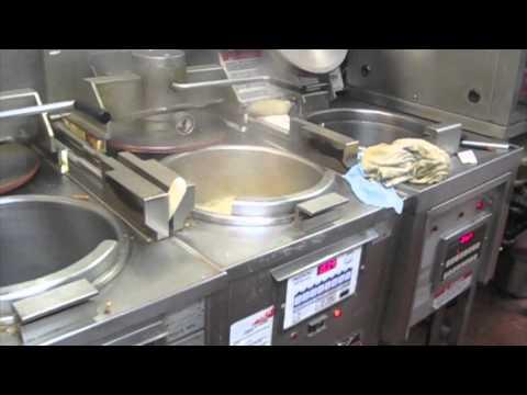 A work day at KFC