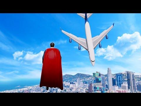 GTA 5 Superman Mod Gameplay