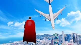 GTA 5 Superman Mod Gameplay