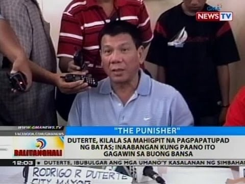 BT: Duterte, kilala sa mahigpit na pagpapatupad ng batas