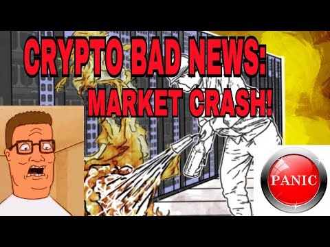 Crypto Market Crash - Bad NEWS! - Binance Hack Rumor/MT Gox Sell OFF/SEC-Reg/Bittrex Country Ban