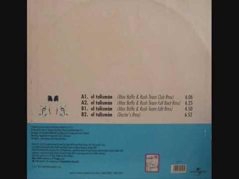 Download ROSANA - El Tàlisman (Max Baffa & Rush Team Edit) 1997 MCA ZAC RECORDS ITALIAN REMIX