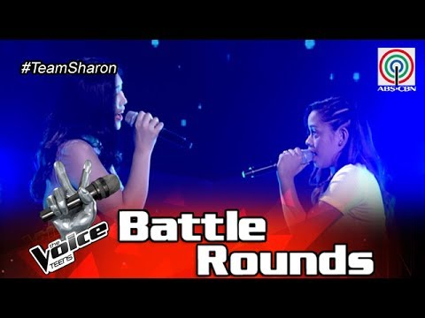 The Voice Teens Philippines Battle Round: Alyssa vs Patricia - Sana'y Wala Nang