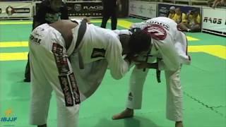 Ronaldo Jacare vs Braulio Estima World Championship 2005