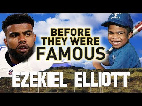 EZEKIEL ELLIOTT - Before They Were Famous - NFL DALLAS COWBOYS
