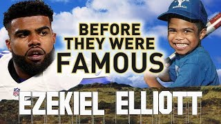 EZEKIEL ELLIOTT - Before They Were Famous - NFL DALLAS COWBOYS