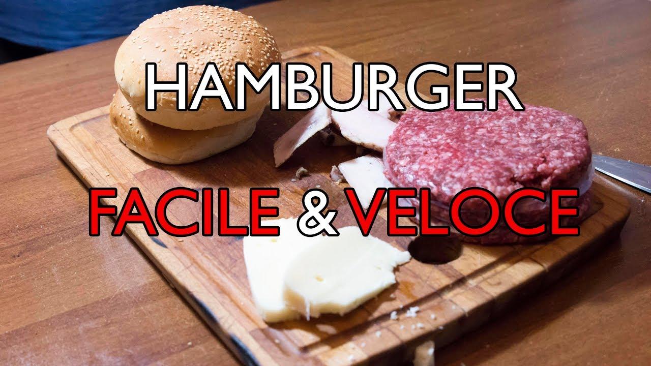 Youtube Ricetta Hamburger.Hamburger Fatto In Casa Ricetta Facile E Veloce Con Maionese Al Rosmarino Fatta In Casa Youtube