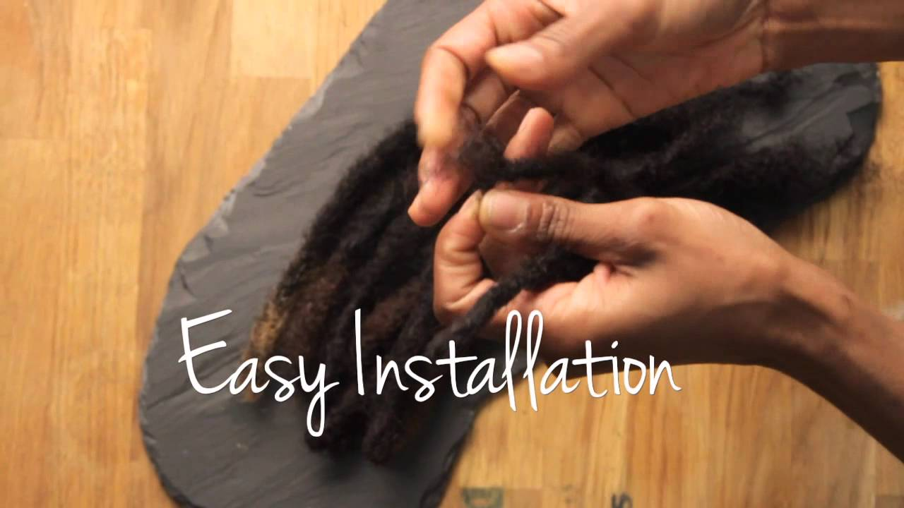 Faux locs loc extensions pre made human hair locs pmusecretfo Image collections