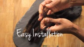Faux Loc Extensions- Realistic Pre-made Human Hair