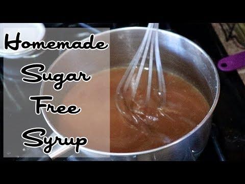 Homemade Sugar Free Syrup