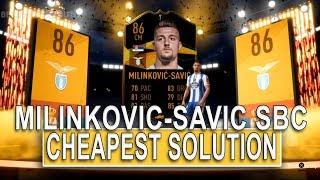 SERGEJ MILINKOVIC SAVIC SBC CHEAPEST SOLUTION! | SQUAD BUILDING CHALLENGE | FIFA 19 ULTIMATE TEAM