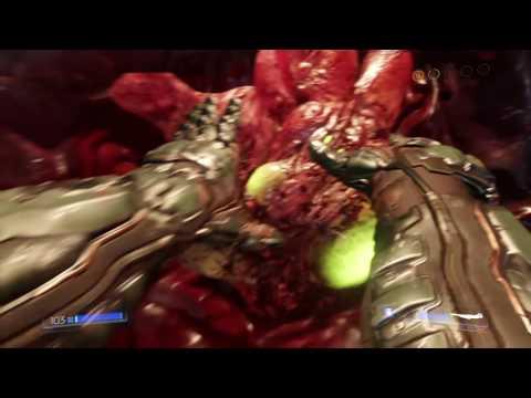 DOOM(PS4) - Argent Energy Tower Battle (Ultra Violence)
