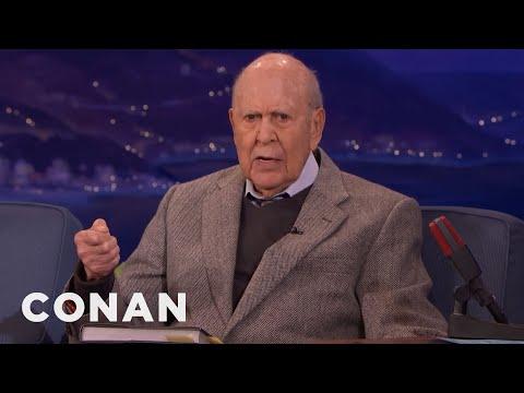 Carl Reiner Is A Big Fan Of CONAN's Nut Spoon Sketch  - CONAN on TBS