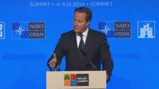 NATO Summit in Wales press conferences - Truthloader