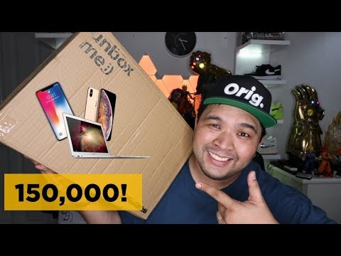 P150,000 ($3,000) APPLE MYSTERY BOX UNBOXING! I GOT AN IPHONE X!!!