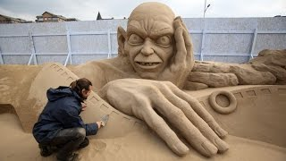 Amazing and Creative Sand Sculptures from around the World