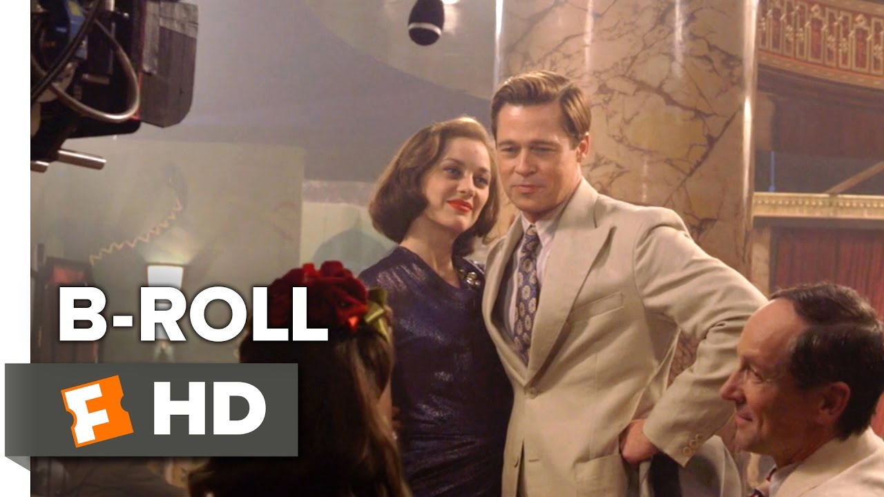 Allied B Roll 2016 Marion Cotillard Movie Youtube