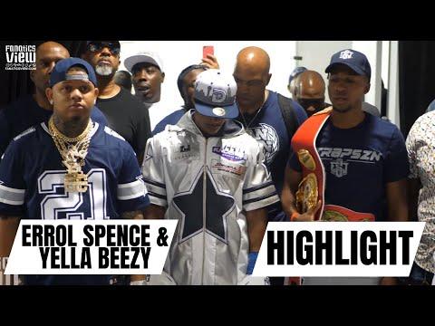 Errol Spence Jr. Fights in Dallas Cowboys Wardrobe (Behind The Scenes of Walkout)