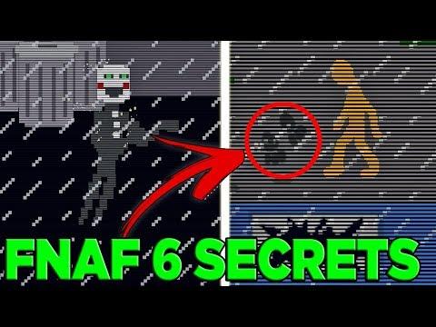ALL MINI-GAME SECRETS/EASTER EGGS | Freddy Fazbear's Pizzeria Simulator