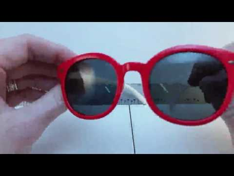 RIVBOS® RBK001 Polarized Kids Sunglasses Review, Very nice bendable kids glasses with one potential