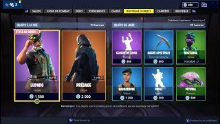 "FORTNITE October 30Th Shop Skins ""LUDWIG"" - ""PRÉSAGE""!"