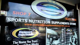 Complete Supplements Australia - Sports Nutrition Store(Australia's first concept sports nutrition store. We design programs, conduct live blood analysis, prescribe correct nutrition and bundle supplement plans for body ..., 2011-08-25T08:53:23.000Z)