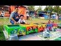 Mainan Labirin Run Di Pasar Malam 😃 Board Game Marble Labyrinth
