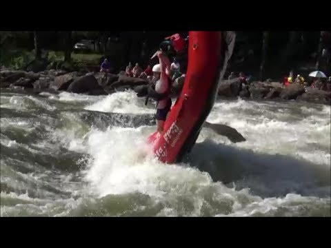 Rookie Raft Guides Rafting Fails On The Ocoee River's Upper And Middle Sections