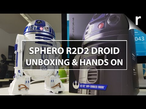 Sphero R2-D2 Unboxing, Setup & Hands-on Review