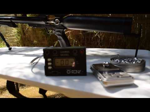 Airforce Texan  4500 psi Upgrade   with 138 grain pellet @ 1186 fps  431.16 foot pounds