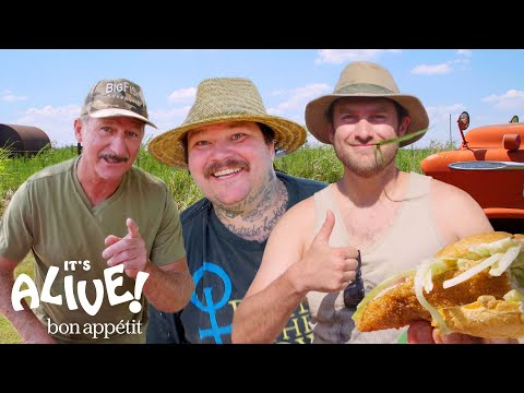 Brad and Matty Matheson Go Noodling for Catfish Part 2 | It's Alive | Bon Appétit
