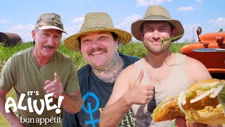 Brad and Matty Matheson Go Noodling for Catfish Part 2 | It
