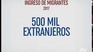 Colombianos aumentan migración que Ecuador recibe en frontera
