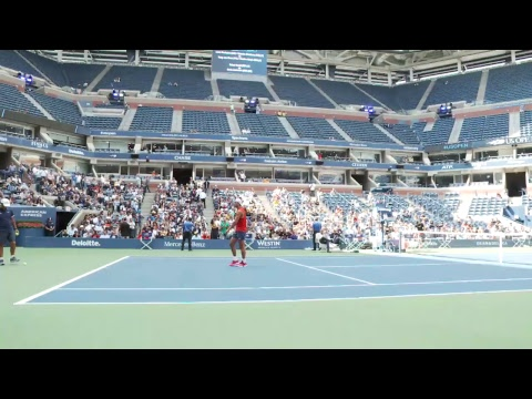 LIVE US Open Tennis 2017: RafaelNadalPractice