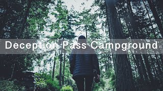 Camping ASMR (..ish) - Deception Pass State Park