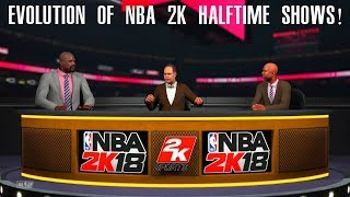 Evolution of NBA 2K Halftime Shows (NBA 2K - NBA 2K18)