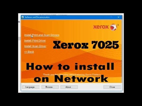 Xerox Workcentre 5325 5330 5335 B7025 B7030 B7035 How To Install