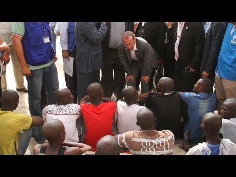 UN Libya envoy visits Tripoli migrant detention centre