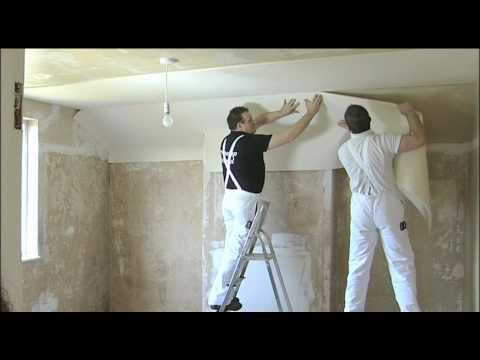 Sempatap Thermal Solid Wall Insulation Being Fitted To A