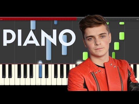 Martin Garrix Matisse Sadko Break Through The Silence (Piano Midi)