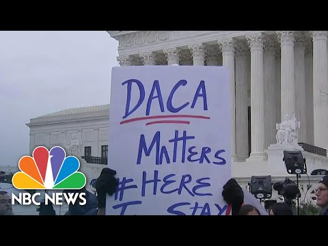 Supreme Court Blocks Trump Admin's Attempt To End DACA | NBC News