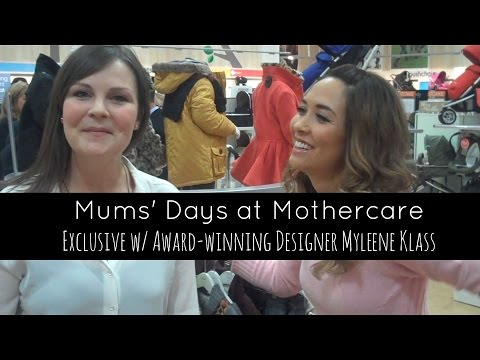 Baby K wins award - exclusive interview with Myleene Klass at Mothercare
