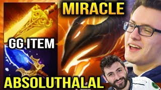 MIRACLE PHOENIX RADIANCE 3 ABSOLUTHALAL In One Team Dota 2
