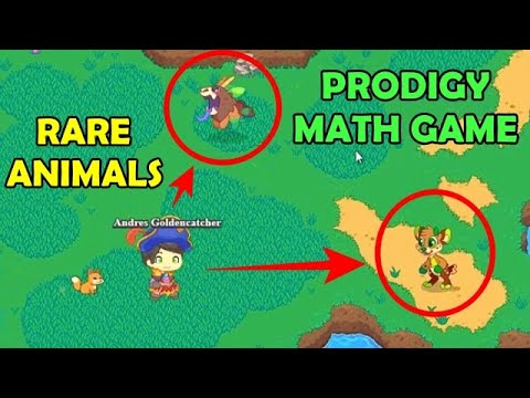 Rare Animals Learning Equivalent Fractions Prodigy