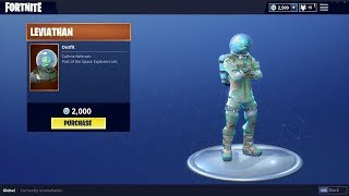 NEW LEVIATHAN SKIN AND PLANETARY PROBE GLIDER! (Fortnite Battle Royale)