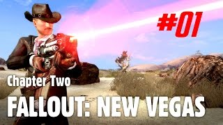 Let's Play Fallout: New Vegas (Chapter Two) - 01 - Hot on the Trail