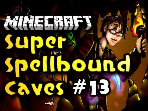 "Minecraft Super Spellbound Caves - Ep. 13 - ""University of Arcane Enchants"" (HD)"